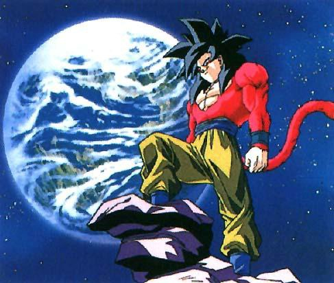 Wallpaper Images on Xmwallpapers Com    Wallpaper Anime Dragonball Gt Super Saiyan 4 Goku